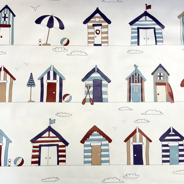Beach Hut White PVC