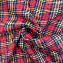 Tartan - Yellow Red