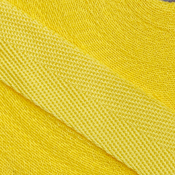 Herringbone Webbing Tape - Cotton Yellow