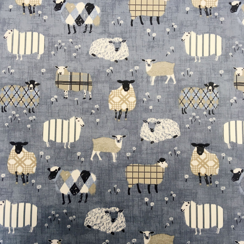 Baa Baa Denim Matt Oilcloth