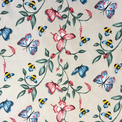 Butterflys Bees Ladybirds Oilcloth
