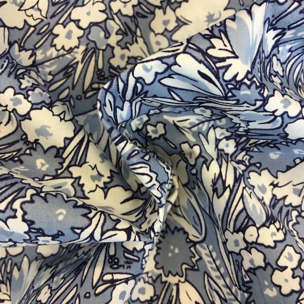 Mixed Blues Floral