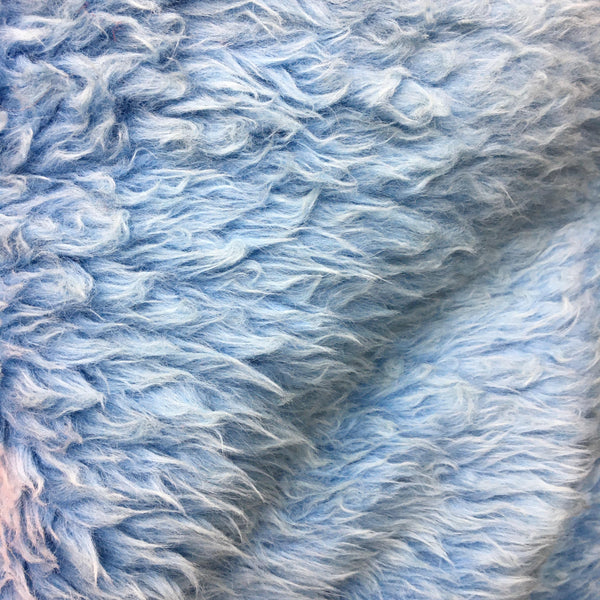 Faux Fur - Baby Blue Long