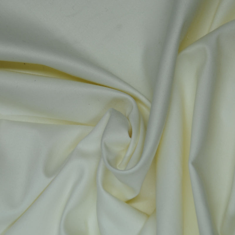 Sateen Curtain Lining - Ivory
