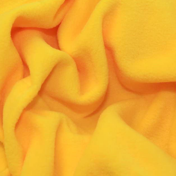 Soft Polar Fleece - Yellow