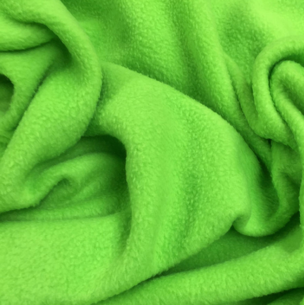 Soft Polar Fleece - Lime