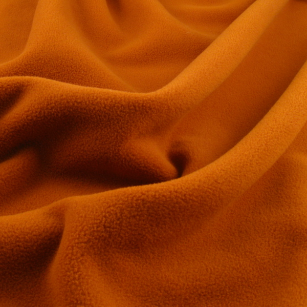 Soft Polar Fleece - Rust