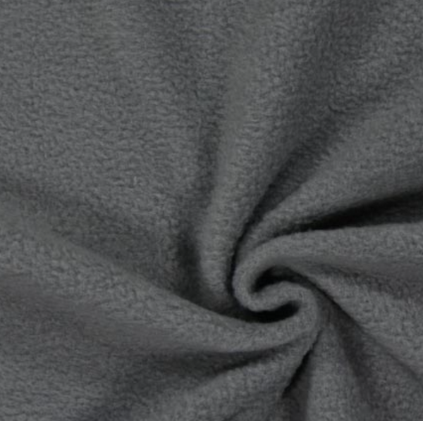 Soft Polar Fleece - Dark Grey