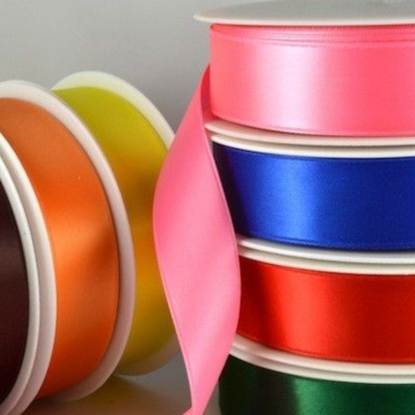 Double Faced Satin Ribbon - 7mm