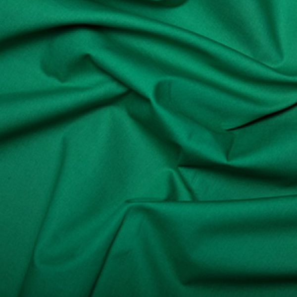 Cotton Poplin Emerald