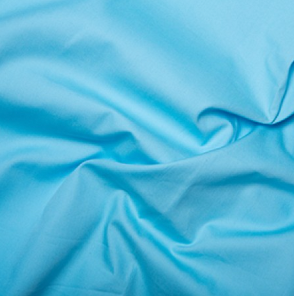 Cotton Poplin Sky Blue