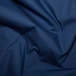 Cotton Poplin Navy