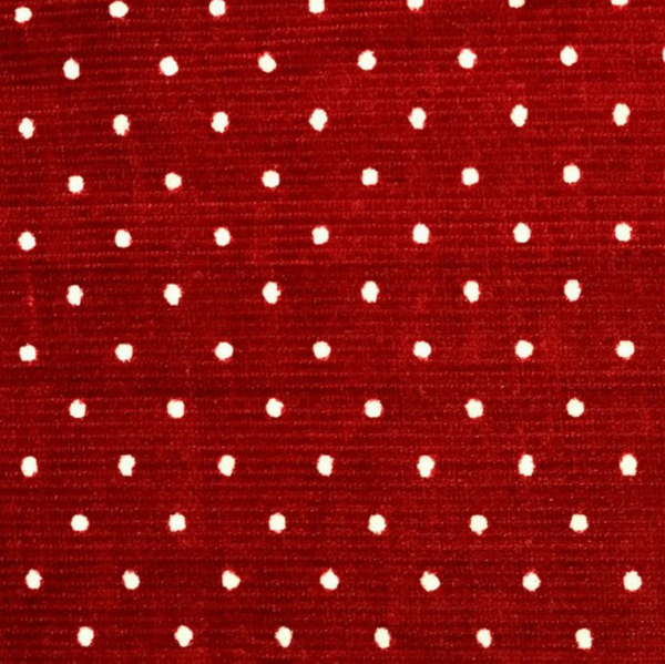 Babycord - Dotty red
