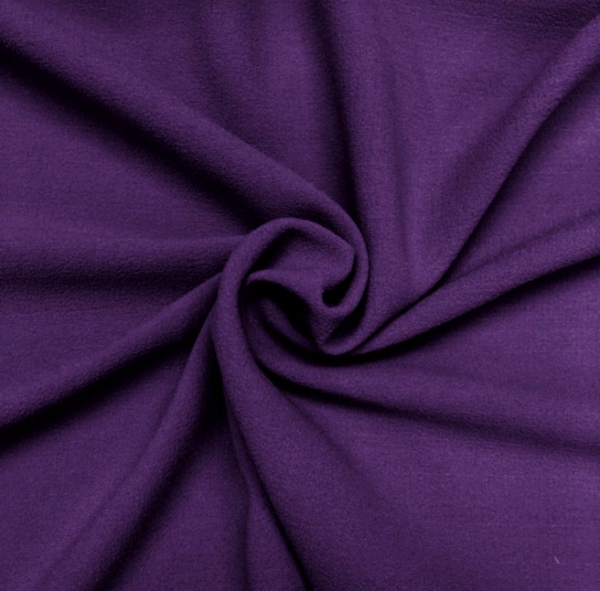 Poly Crepe - Purple