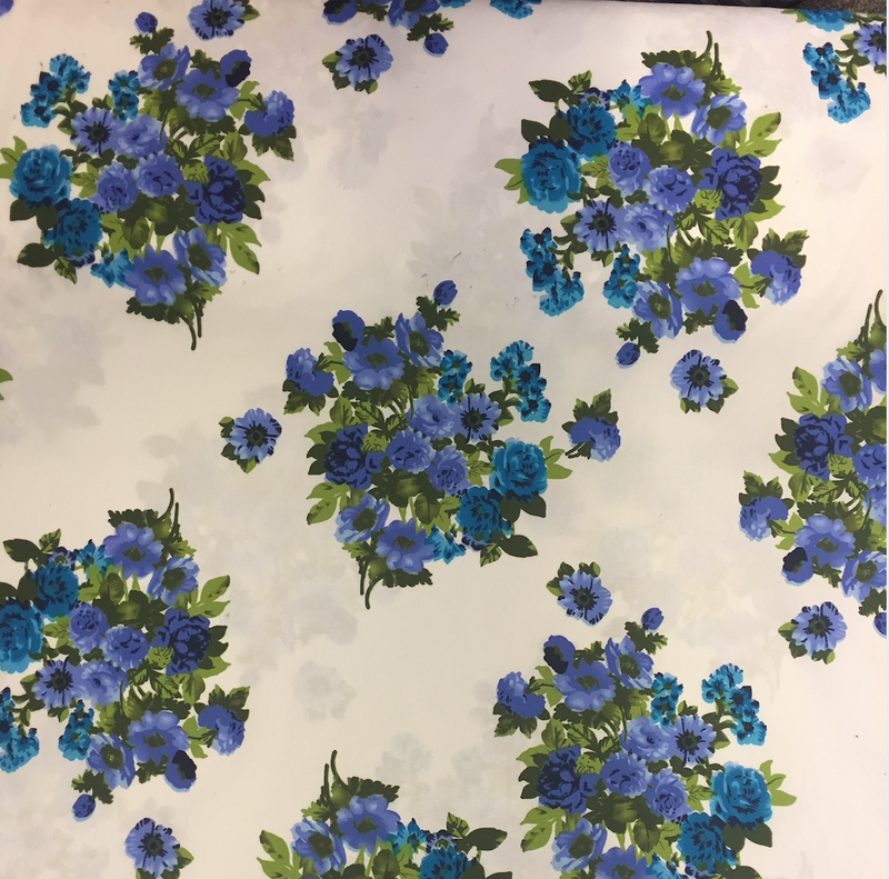 Hendon - Blue & white Floral