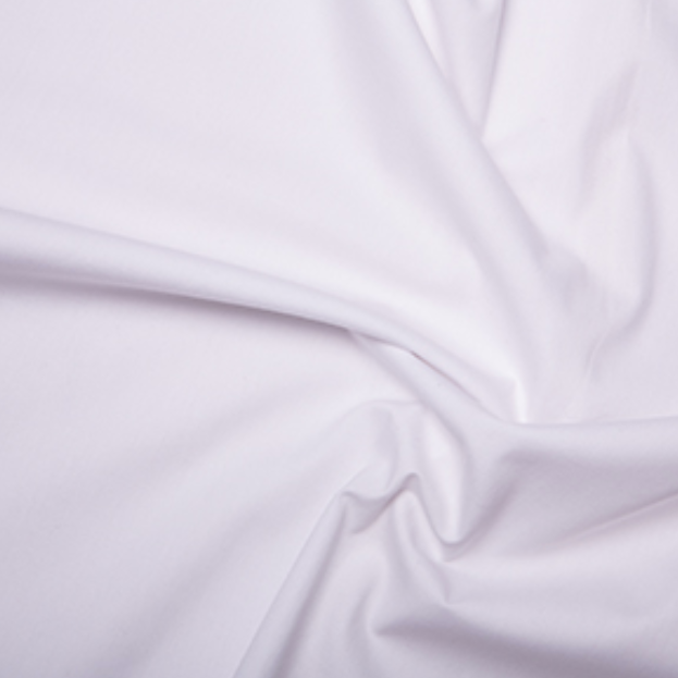 Cotton Poplin White