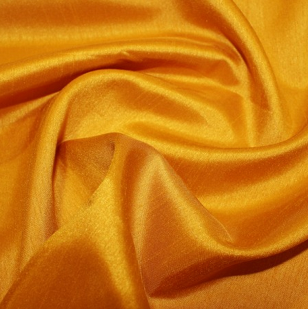 Shantung Satin - Butterscotch