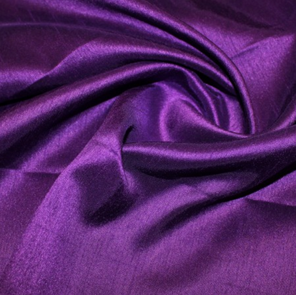 Shantung Satin - Purple
