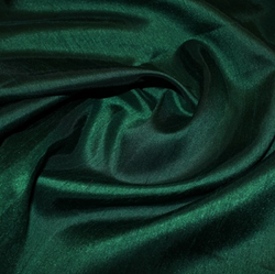 Shantung Satin - Forest Green