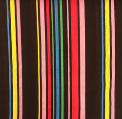 Stripes Black Multi