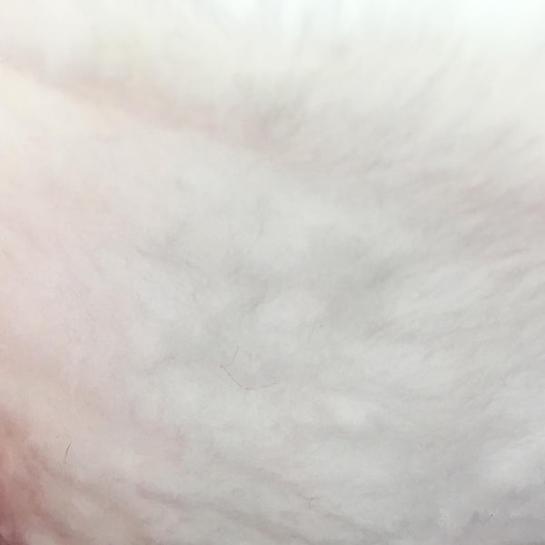 Faux Fur - White short