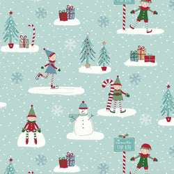Elf Multi Oilcloth