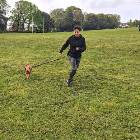 Small Dog Canicross – get the most out of twenty minutes of exercise!
