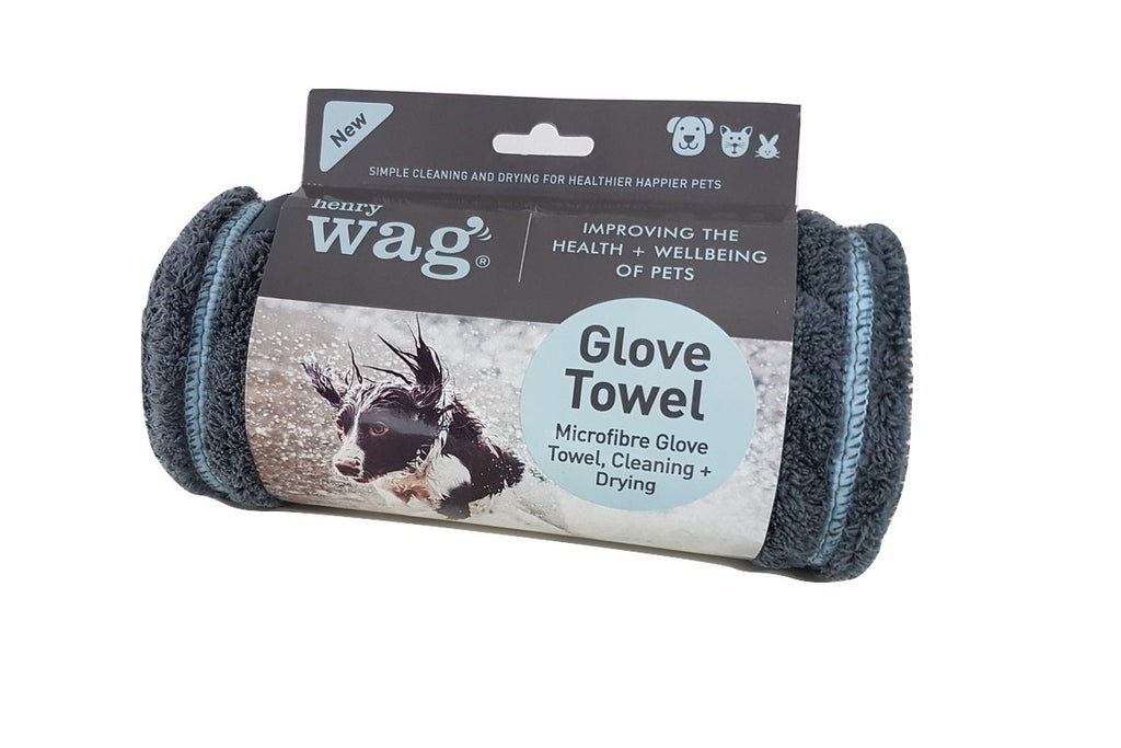 Microfibre Cleaning Glove Towel (Henry Wagg)