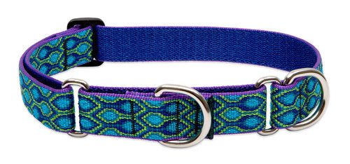 Patterned Martingale Collar (Lupine)