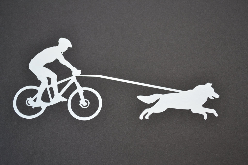 Sticker: Bikejoring Male