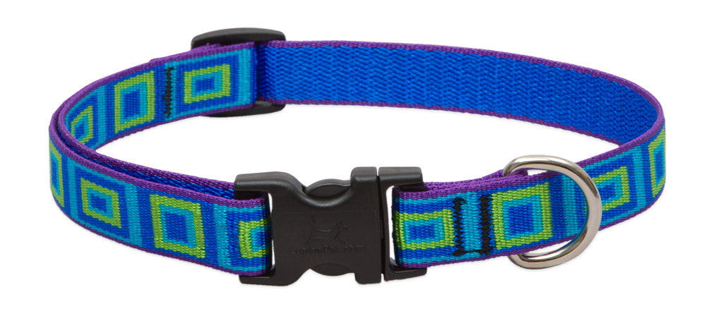 Patterned Adjustable Collar (Lupine)