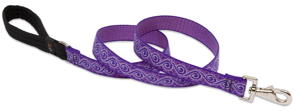 Patterned Dog Lead from Lupine