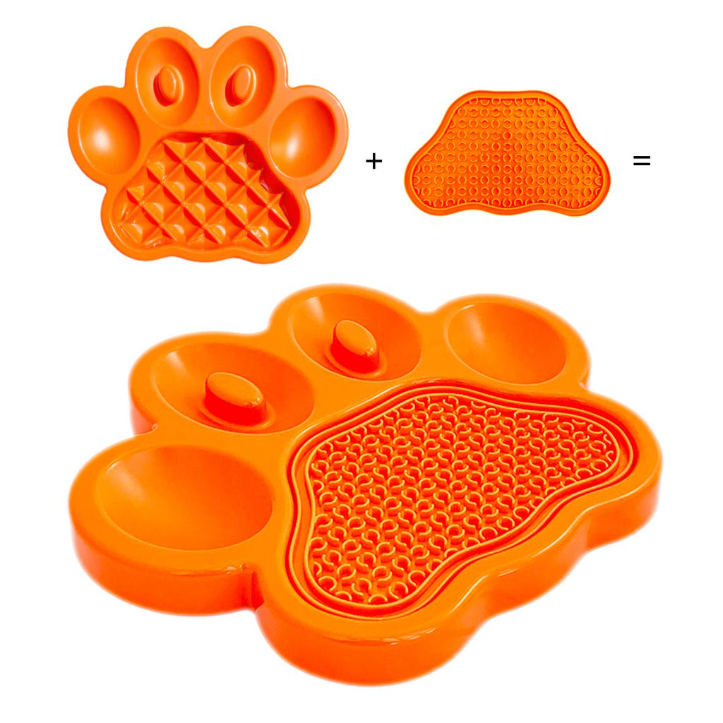 PAW 2-in-1 Slow Feeder & Lick Pad (Pet Dreamhouse)