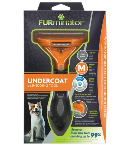 Undercoat deShedding Tool for Medium Long Hair Dog (FURminator)