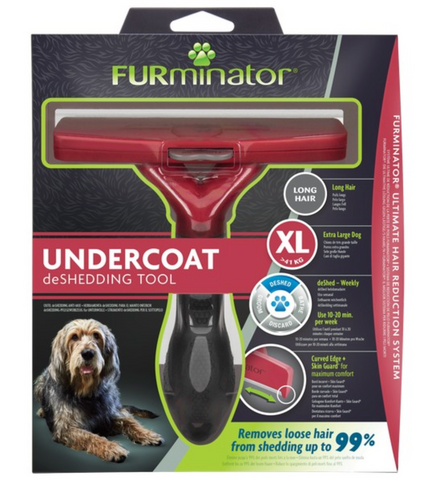 Undercoat deShedding Tool for Extra Large Long Hair Dog (FURminator)