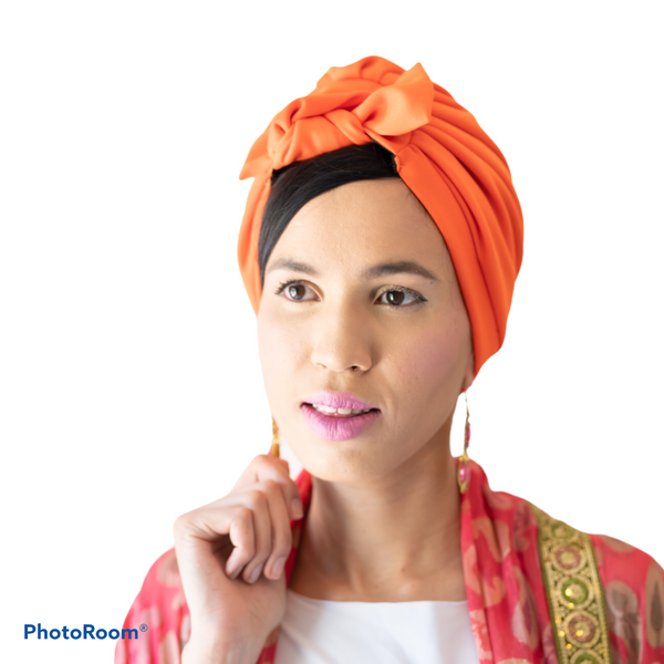 TURBANS || orange