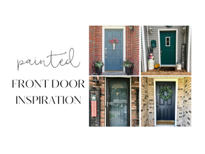 Find Your Painted Front Door Inspiration