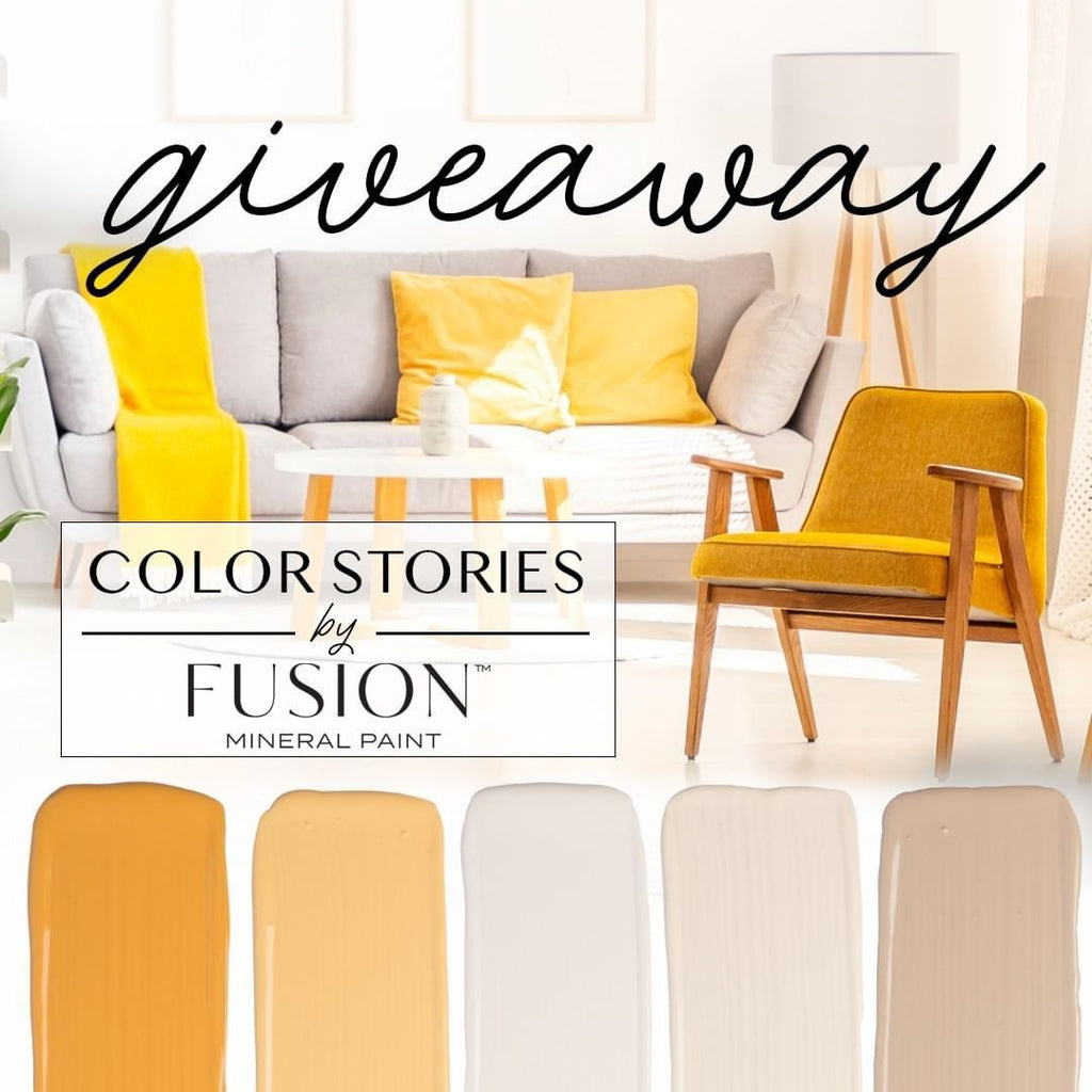 Fusion Mineral Paint's FIVE Pint Giveaway!
