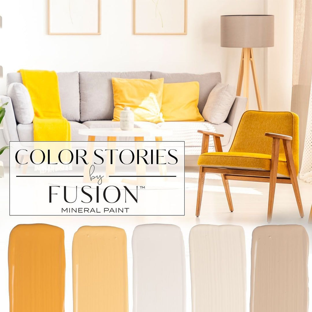 March's Color Story from Fusion Mineral Paint