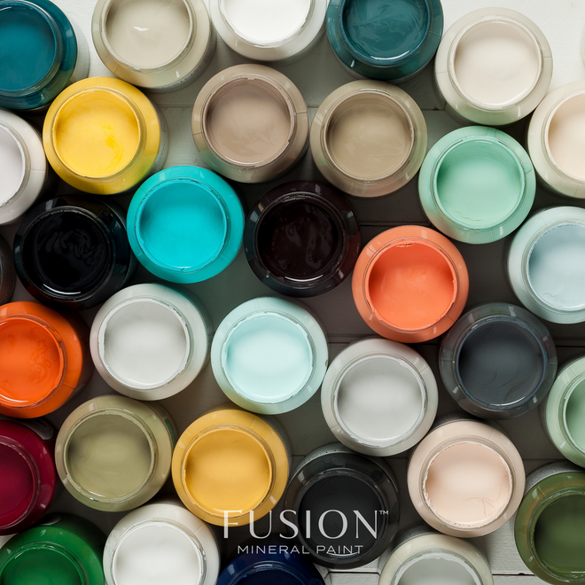 All Fusion Mineral Paint Colors