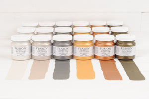 Fusion Mineral Paint Metallics @ The Painted Heirloom