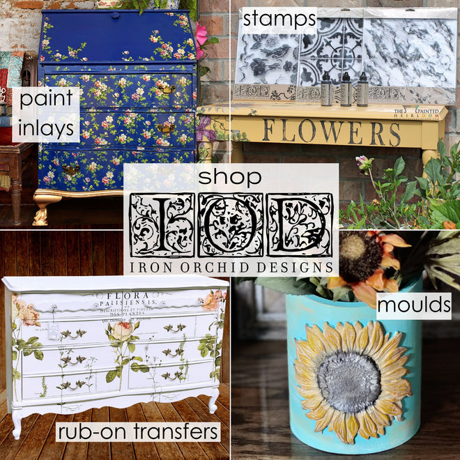 All Iron Orchid Designs (IOD) Products