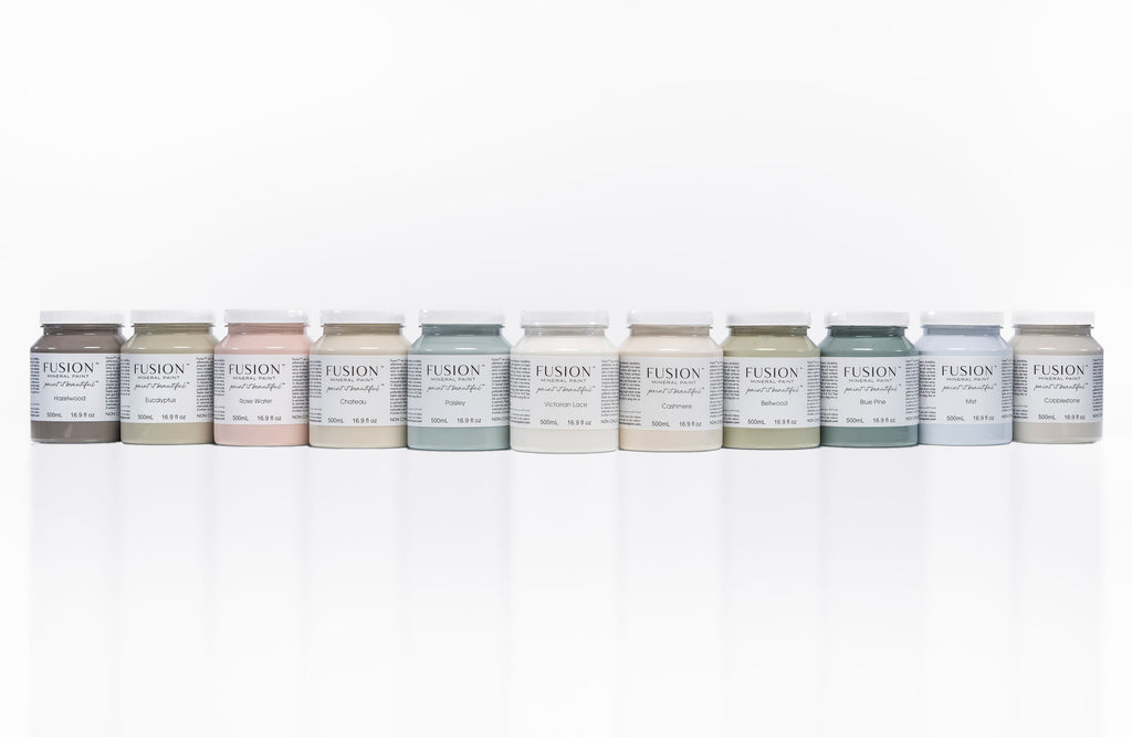 New Fusion Mineral Paint 2021 Release - 11 New Colors!