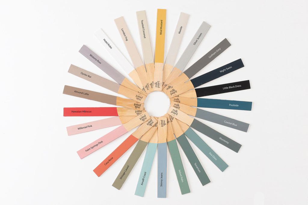 Milk Paint by Fusion Color Wheel