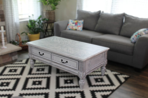 Coffee Table @ The Painted Heirloom