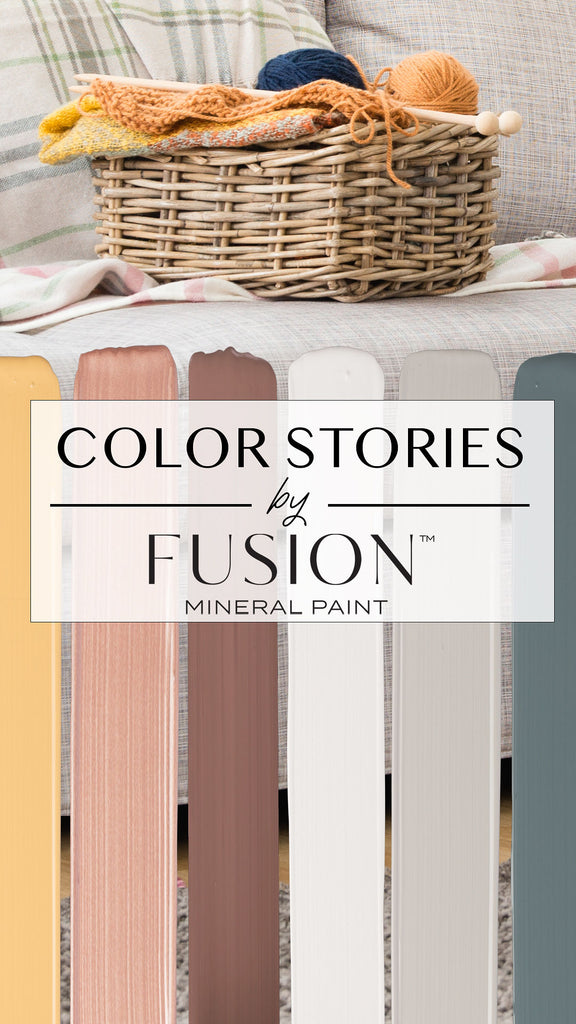 Fusion Mineral Paint Fall Palette