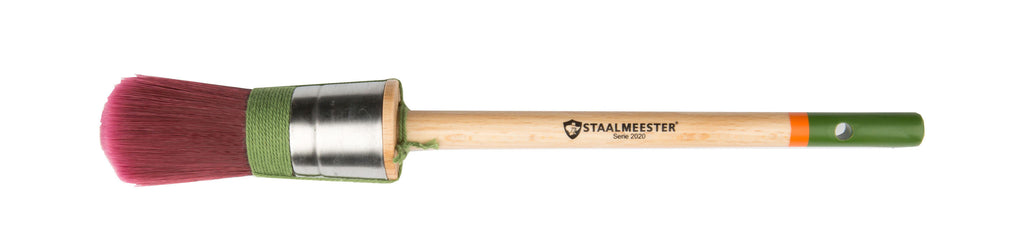 Round Pro-Hybrid Synthetic Paintbrush (Series 2020) by Staalmeester
