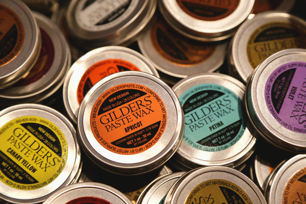 Gilders Paste Wax by Artist Supplies & Products @ The Painted Heirloom