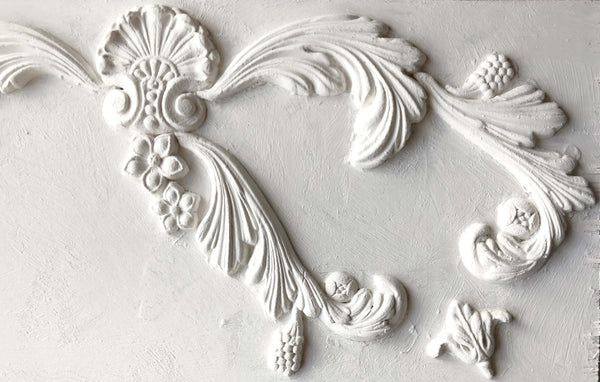 IOD Acanthus Scroll Mould by Iron Orchid Designs
