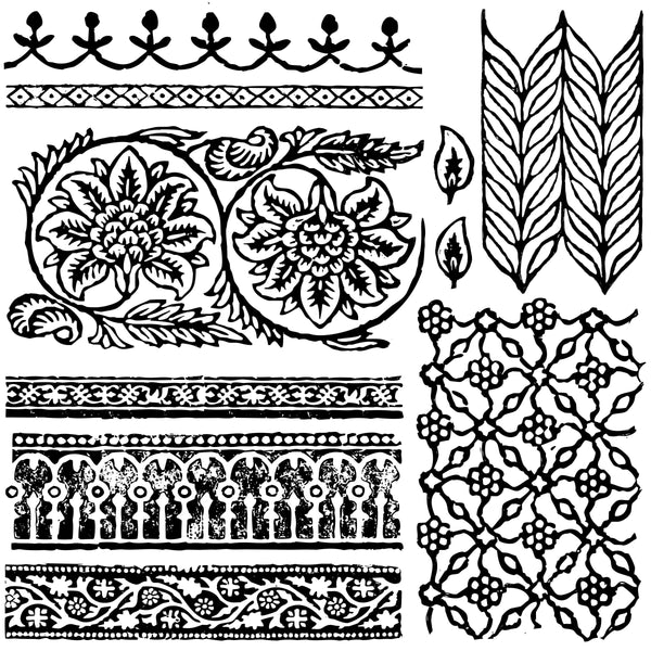 IOD Bohemia Decor Stamp - New Fall 2019 Iron Orchid Designs Release
